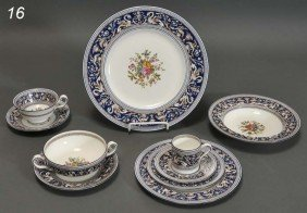 WEDGEWOOD PARTIAL DINNER SERVICE Approximately 110
