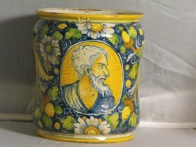PHARMACY DRUG JAR, VENICE 19TH. C.