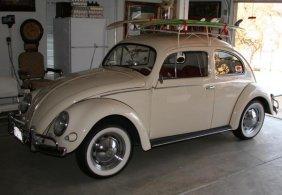 1957 Classic Volkswagen Beetle-Oval Window