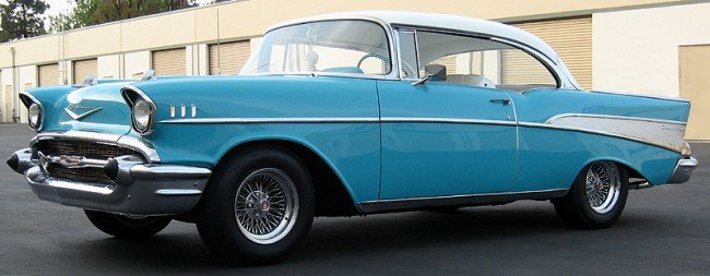 1957 Chevy Bel Air 2 Door Hardtop Lot 150