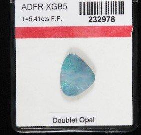 Doublet Opal (1) 5.41cts OP198