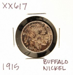 1915 Buffalo Nickel XX617