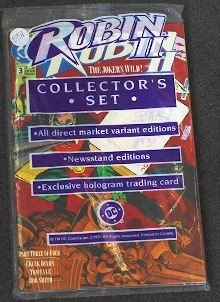 Robin II Collector's Set - CB551 Lot Of (3) Vintage Com