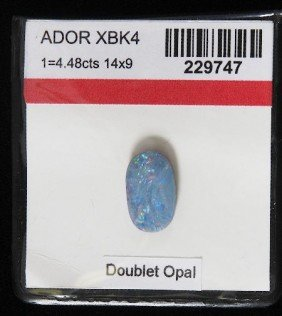 Doublet Opal (1) 4.48cts OP206