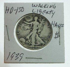 1939 Walking Liberty Half Dollar HD150