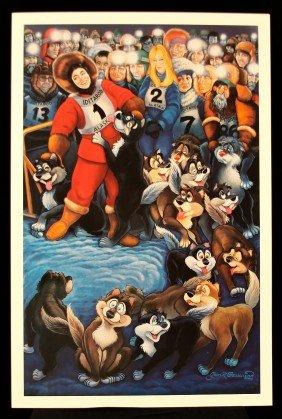 Alaska By G.R. Cassarino Walt Disney Artist AP273