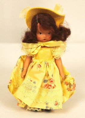 """Nancy Ann Storybook Doll """"Over The Hills"""" #114 ED1186"""