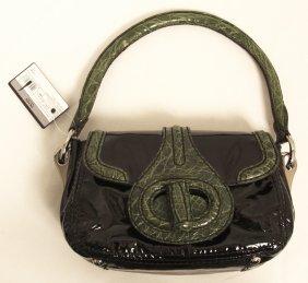 "BNWT $2,450 Prada Handbag ""Pattina Sottospalla"" ED1172"