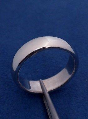 Platinum Tiffany And Co Band Ring WNK2
