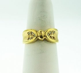 14T Yellow Gold Diamond Ring .50ct GD97