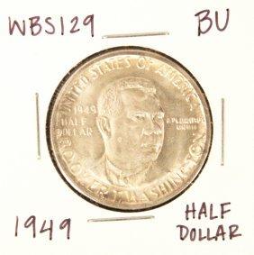 1949 BU Booker T. Washington Commemorative Half Dollar