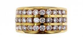 14KT Yellow Gold 1.55CT Diamond Ring STN9