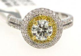 18KT White Gold 1.92ct Diamond Ring RM420