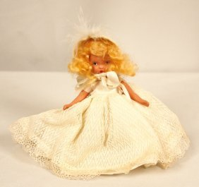 "Nancy Ann Storybook Doll ""Winter"" #93 ED1185"
