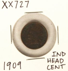 1909 Indian Head Cent XX727