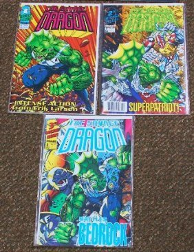 The Savage Dragon Vintage Comic Books (3) CB204
