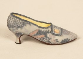 "Miniature Porcelain 'Just The Right Shoe' ""Lavish Tapes"
