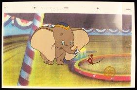 "Walt Disney ""Dumbo"" Ltd Ed Serigraph Cel DisneySeri294"