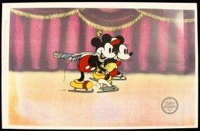 """Walt Disney """"On Ice"""" Ltd Ed Serigraph Cel DisneySeri356"""