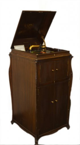 Antique Record Player Collectible5