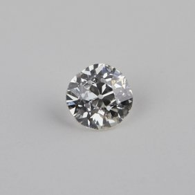 GIA Certified 0.56ct SI2/J Round Cut Loose Diamond GB82