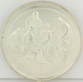 Silver Commemorative Medal