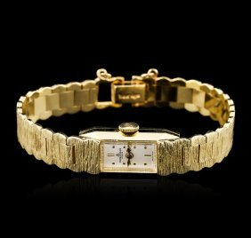 Ladies Baume And Mercier 14kt Yellow Gold Wristwatch