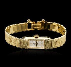 Ladies Baume And Mercier 14kt Yellow Gold Wristwatch