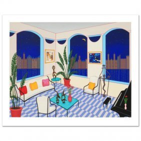 Interior With Primitive Art By Fanch Ledan