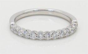 0.37ctw Diamond Ring - 14kt White Gold