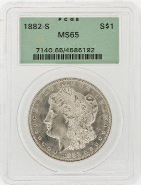 1882-s Pcgs Ms65 Morgan Silver Dollar