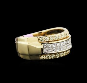 1.10ctw Diamond Ring - 14kt Yellow Gold