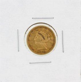 1853 $2.50 Xf Liberty Head Quarter Eagle Gold Coin