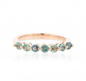 14kt Rose Gold 0.73ctw Alexandrite Ring
