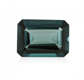 41.39ctw. Natural Emerald Cut Blue Topaz