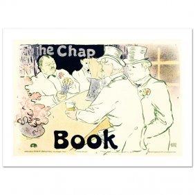 The Chap Book By Henri De Toulouse-lautrec