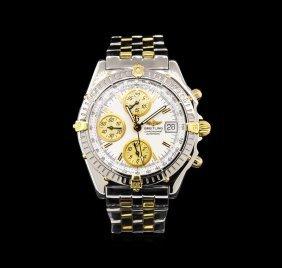 Breitling Two-tone Chronomat Chronograph Watch