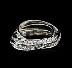 14kt White Gold 1.27ctw Diamond Ring