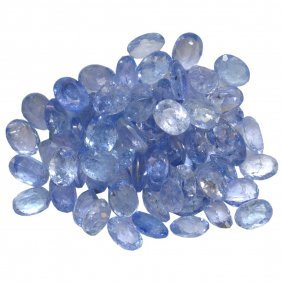 12.73ctw Oval Mixed Tanzanite Parcel