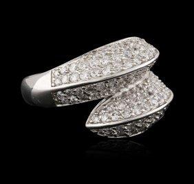 18kt White Gold 2.18ctw Diamond Ring