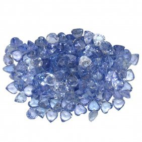 16.51ctw Round Mixed Tanzanite Parcel