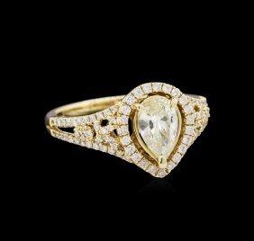 14kt Yellow Gold 1.78ctw Diamond Unity Ring