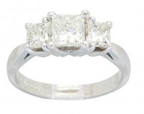 1.46ctw Diamond Ring - 14kt White Gold