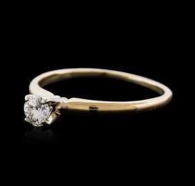 14kt Yellow Gold 0.65ct Diamond Solitaire Ring