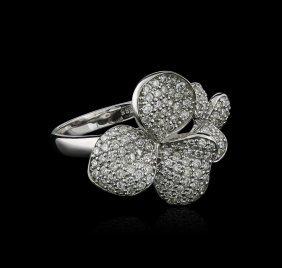 14kt White Gold 0.77ctw Diamond Ring