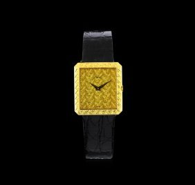 Piaget 18kt Yellow Gold Protocole Watch