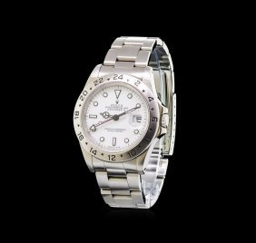 Rolex Stainless Steel Explorer Ii Men's Watch