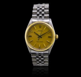 Rolex Stainless Steel Oyster Perpetual Men's Vintage
