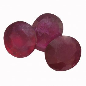 13.14ctw Oval Mixed Ruby Parcel
