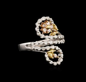 18kt Two-tone Gold 0.60ctw Diamond Ring
